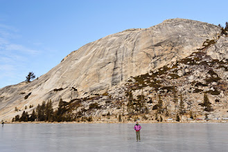 Photo: Serene on Tenaya Lake with Stately Pleasure Dome behind