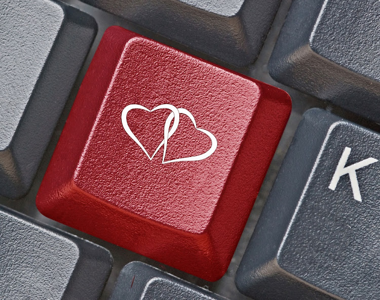 South African men have a better chance of finding their romantic partners online' a study has found.