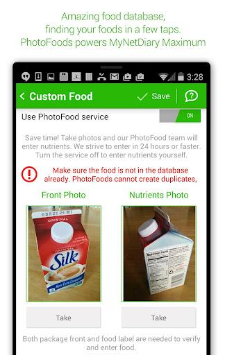 Calorie Counter - MyNetDiary 6.6.3 screenshots 13