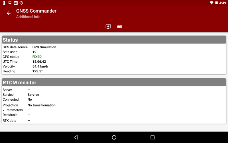 Download GNSS Commander - GPS status APK latest version app