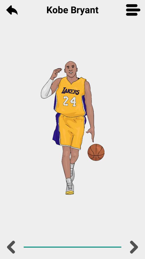 How to draw nba basketball players