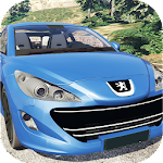 Car Racing Peugeot Game Icon