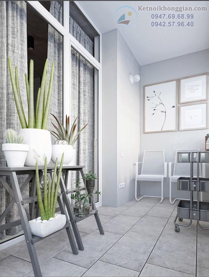 thiết kế căn hộ tiện nghi cho cặp vợ chồng