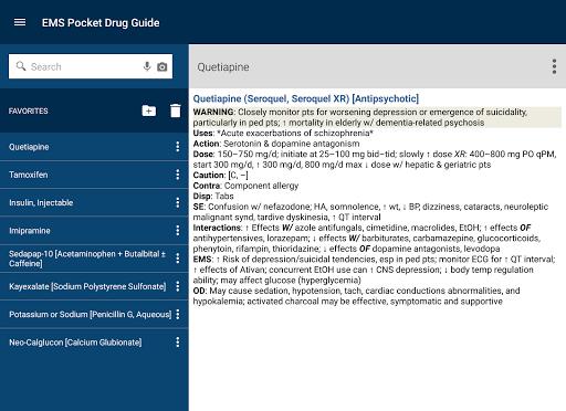 玩免費醫療APP|下載EMS Pocket Drug Guide TR app不用錢|硬是要APP