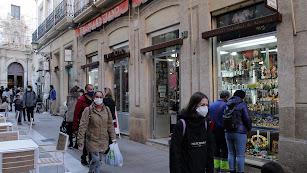 El Valenciano, en calle Tiendas, comercio más antiguo de Almería,fundado en 1870.