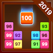 Drag n Merge - Number Block Puzzle icon