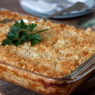 Cheesy Hash Brown Casserole (Funeral Potatoes) Recipe