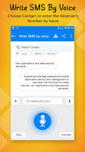Download Write SMS by Voice: Voice Text Messages For PC Windows and Mac apk screenshot 4