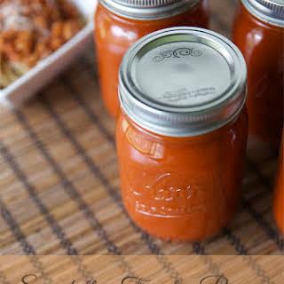 Spaghetti Tomato Pizza Sauce.