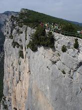 Photo: 1000 ft drop, Belvedere la Carelle.
