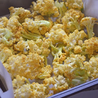Indian Roasted Cauliflower.