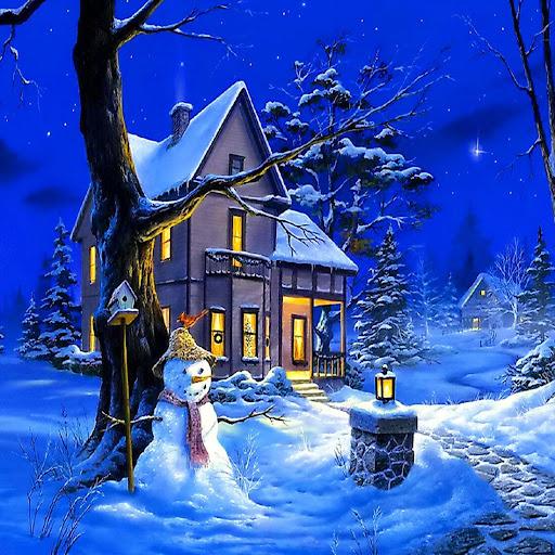 クリスマスの夜ライブ壁紙