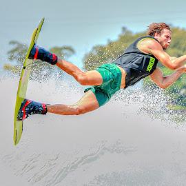 LAKE TELAVIV by Catalino Adolfo   Jr. - Sports & Fitness Watersports ( watersports, sports&fitness )