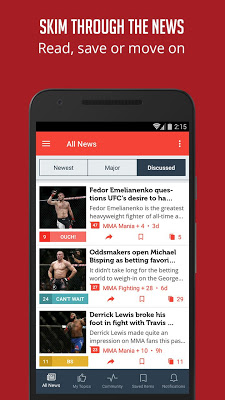 MMA News - Sportfusion - screenshot