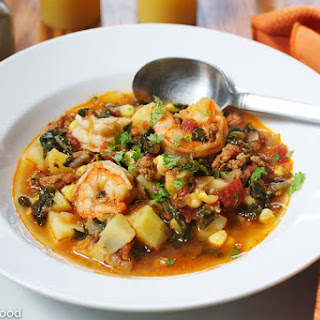 Shrimp & Chorizo Stew