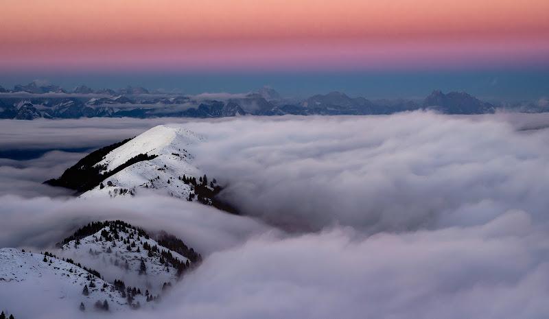 Un mare di nebbia di brunosma