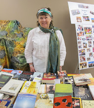 Photo: Granny Sherlyn manages the Grannies' Book Exchange.