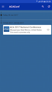 ACA's National Conference- screenshot thumbnail