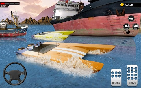 قوارب الكاياك قارب متسابق لعبه 2018 3D سباق محاكاة 1