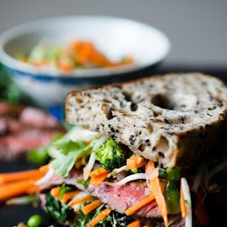Asian Steak Sandwich