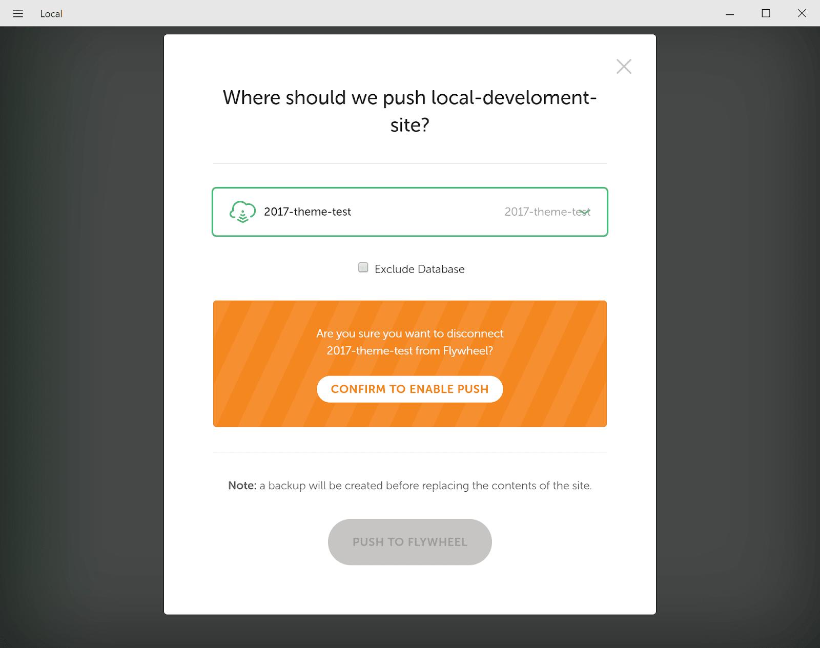 Di chuyển trang web địa phương