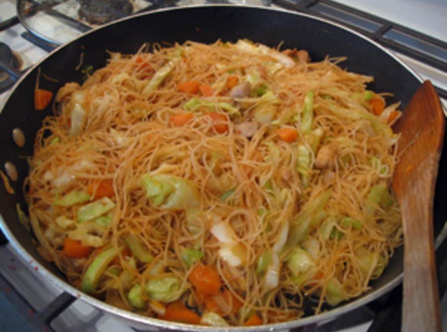 Chicken Pancit Canton Recipe Just A Pinch Recipes