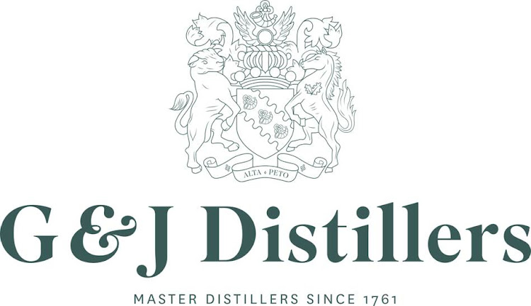 Logo for G&J; Distillers