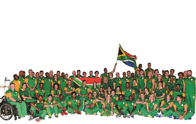 SA Paralympians. Picture: WESSEL OOSTHUIZEN GALLO IMAGES