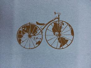 Photo: Screen print on American Apparel shirt