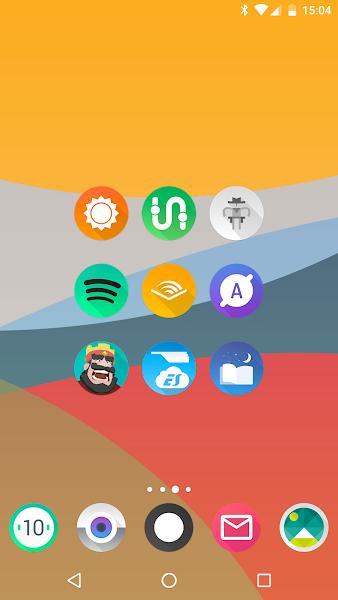 Aurora UI – Icon Pack v6.8