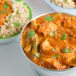 Instant Pot Indian Butter Chicken.