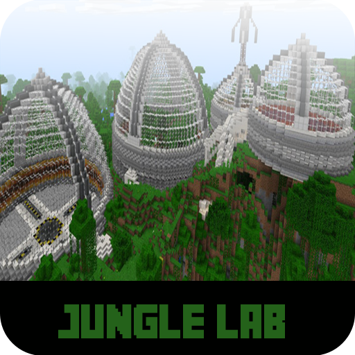 Map Jungle Lab For MCPE