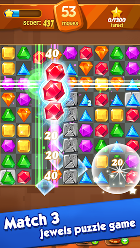 Jewels Classic - Jewel Crush Legend screenshots 1