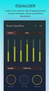 Audio Beats - Free Music Player & Mp3 player Screenshot