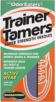 Odour-Eaters Trainer Tamers Super Strength Insoles - Pair