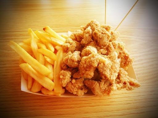 Popcorn Chicken & Chips