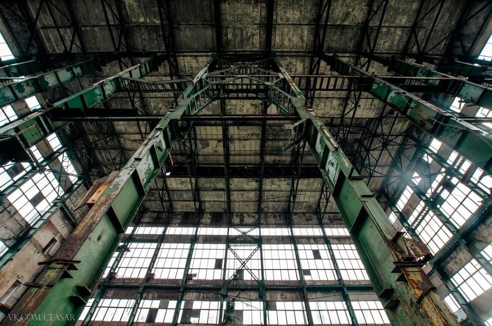 Кириши, заброшенный завод