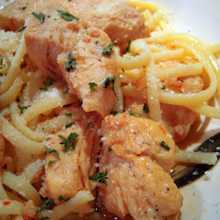 Buttery Chicken Scampi.