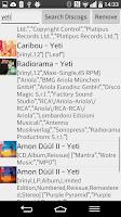Screenshot of Discogs Scan