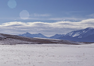 Photo: The Wallowa hills and mountains