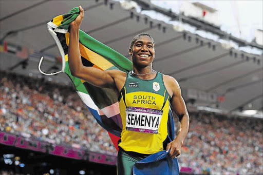 Caster Semenya has vowed to win two gold medals at the Commonwealth Games. Picture: GETTY IMAGES / FILE