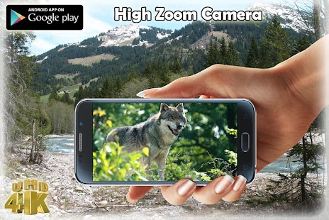 High Mega Zoom Camera UHD 2017 - náhled