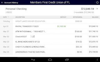 Screenshot of Members First Credit Union FL