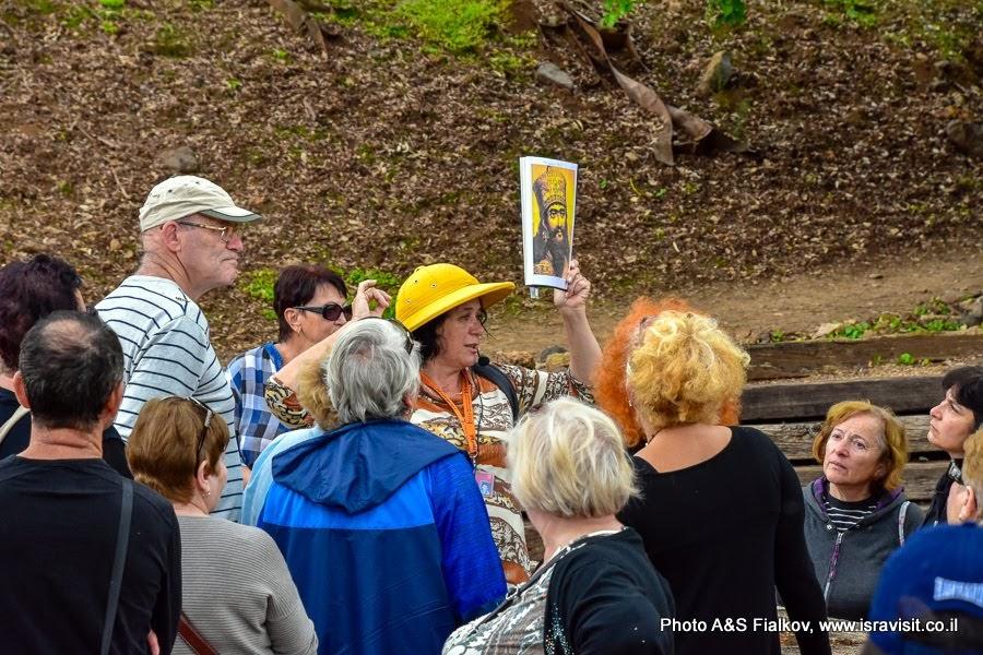 Экскурсия по археологическим достопримечательностям на севере Израиля с экскурсоводом Светланой Фиалковой.
