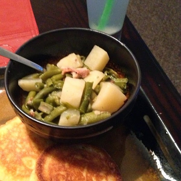 String Beans With White Potatoes Recipe
