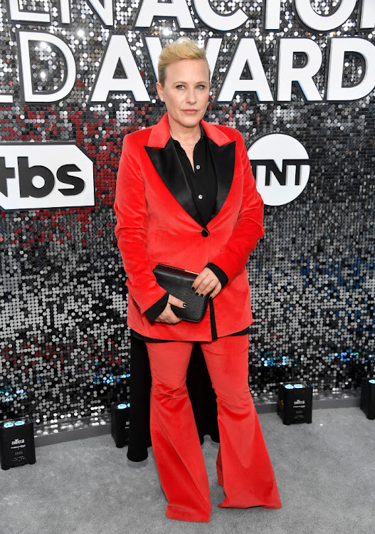 Patricia Arquette at the 2020 SAG Awards.