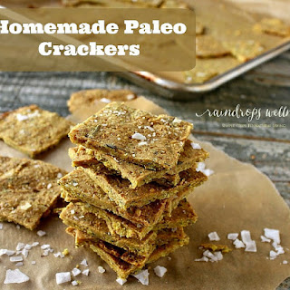 Homemade Paleo Crackers
