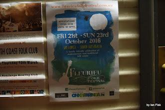 Photo: Poster for the Fleurieu Folk Festival 2016 http://www.fleurieufolkfestival.com.au/