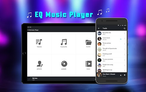 Equalizer Music Player Screenshot