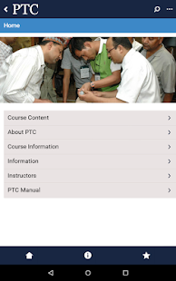PTC App- screenshot thumbnail